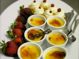 A sample of the delicious food at The Gables