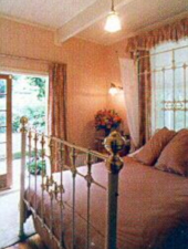 The guest bedroom at The Gables