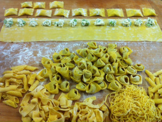 The pasta at The Gables is homemade